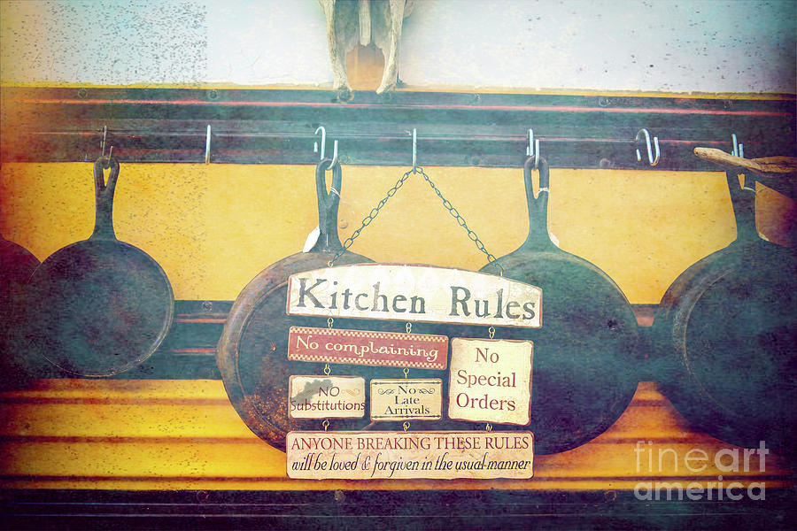 Kitchen Rules Photograph