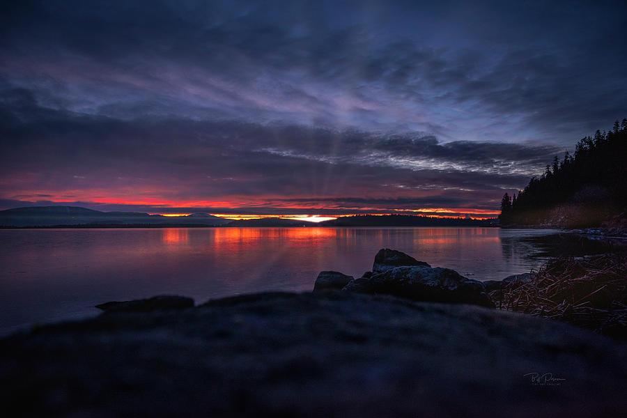 Klamath Lake Morning by Bill Posner