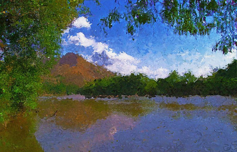 Klamath River California Digital Art