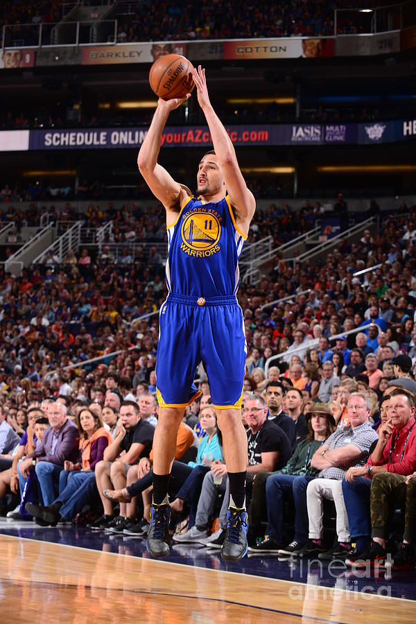 Klay Thompson Photograph by Barry Gossage