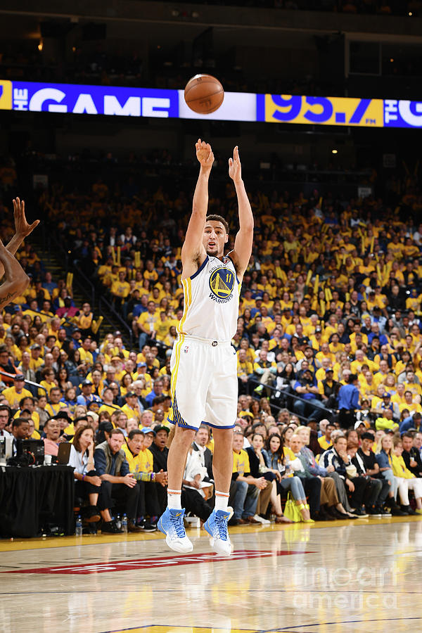 Klay Thompson Photograph by Garrett Ellwood