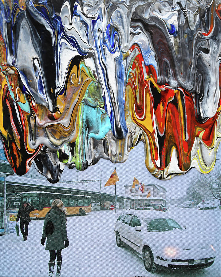 Klosters Station by Antonio Wehrli
