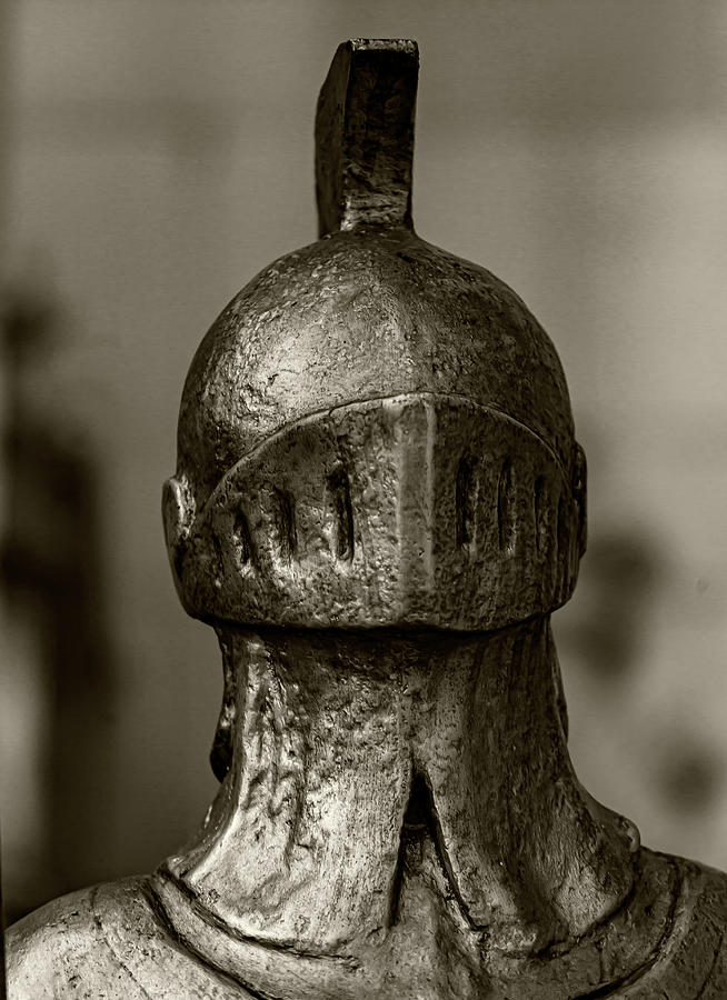 Knight in Armor - Statue by Robert Ullmann