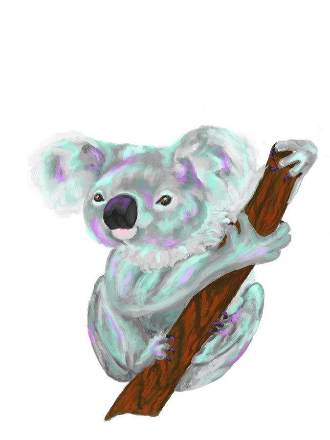 Koala Digital Art - Koala  by Dara Thomson