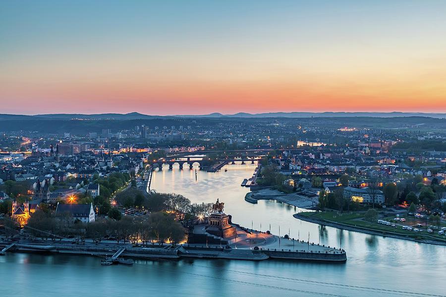 Europe Photograph - Koblenz 01 by Tom Uhlenberg