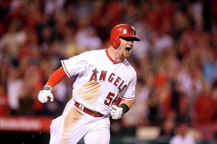 Kole Calhoun Photograph by Stephen Dunn
