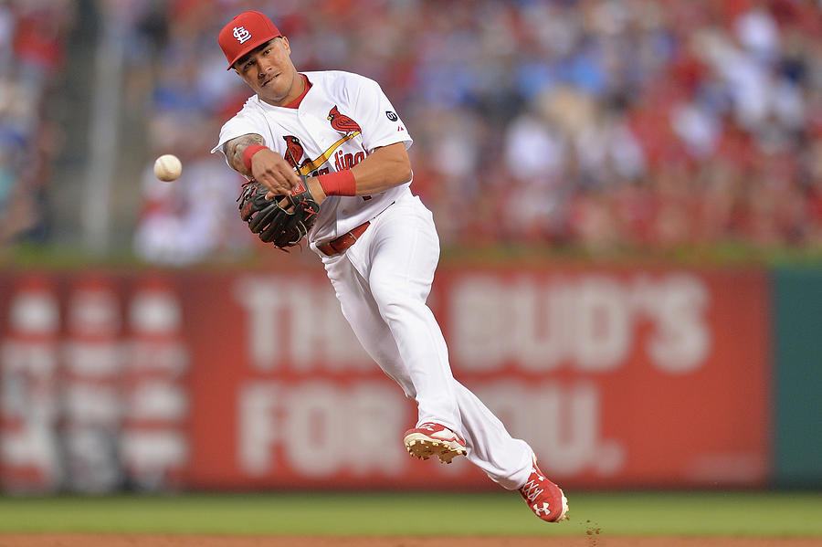 Kolten Wong Photograph by Michael Thomas
