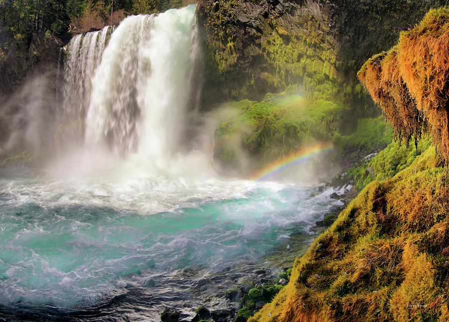 Koosah Falls 2 by Leland D Howard