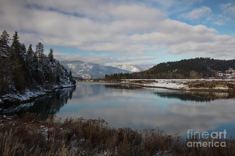 Kootenai River Photograph - Kootenai River Reflections by Idaho Scenic Images Linda Lantzy