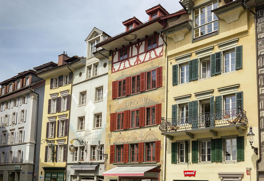 Kornmarkt Buildings Lucern Photograph