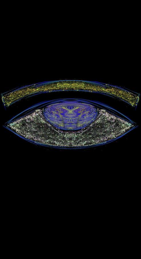 Kosmic All Seeing Eye Digital Art