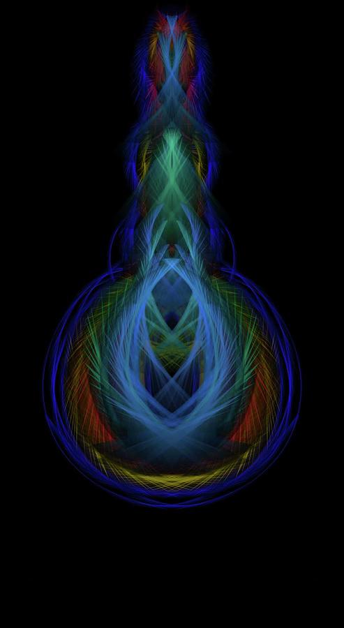 Kosmic Comet Digital Art