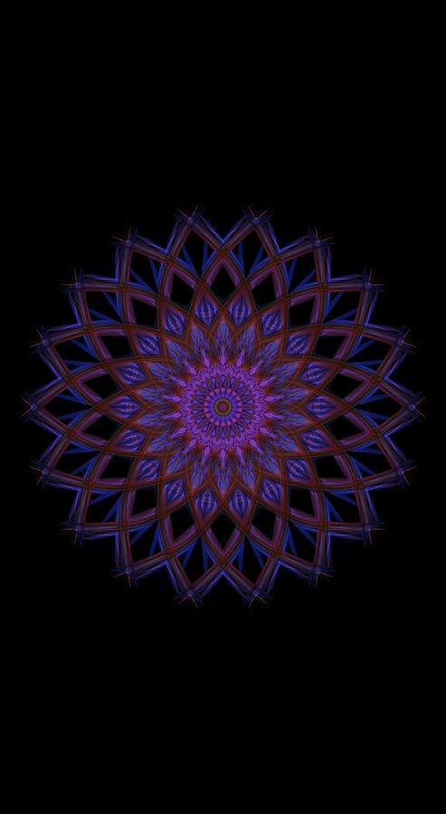 Kosmic Kreation Mandala 3 Digital Art