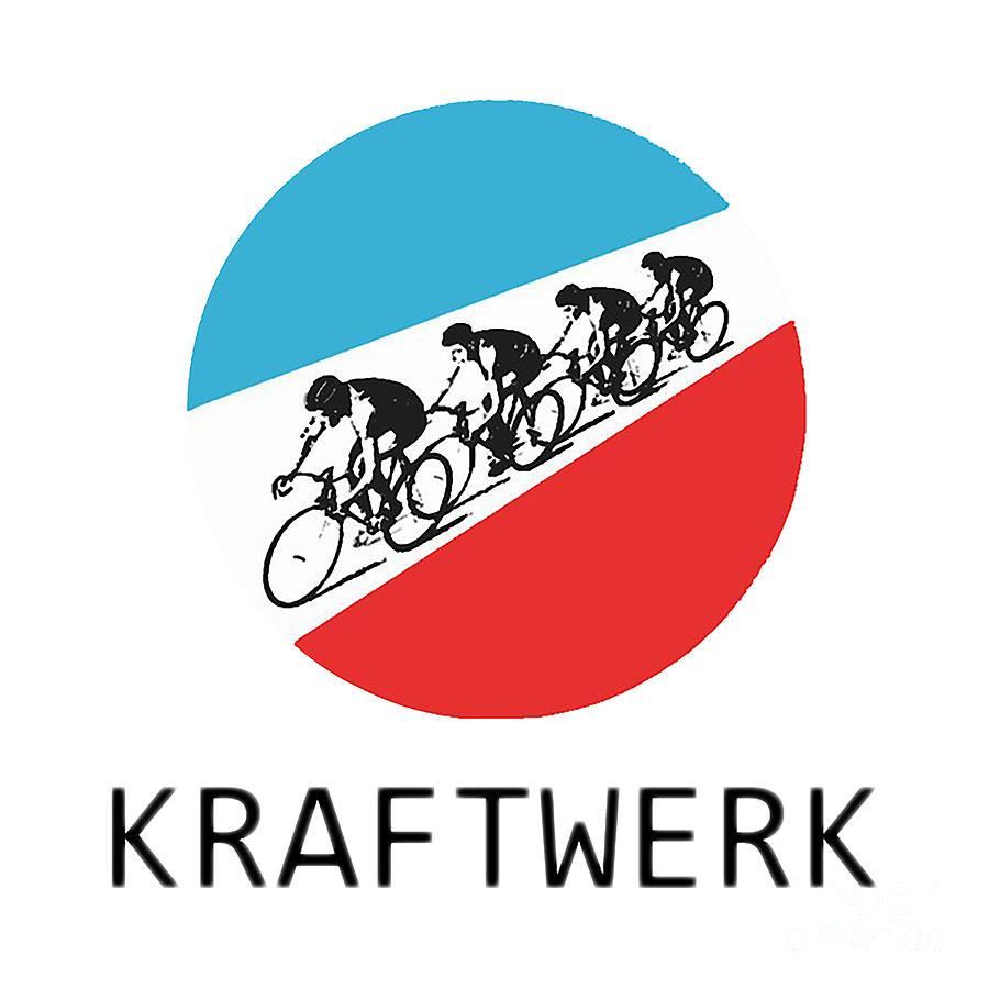 Tour Digital Art - Kraftwerk Tour by Maximus Bengtsson