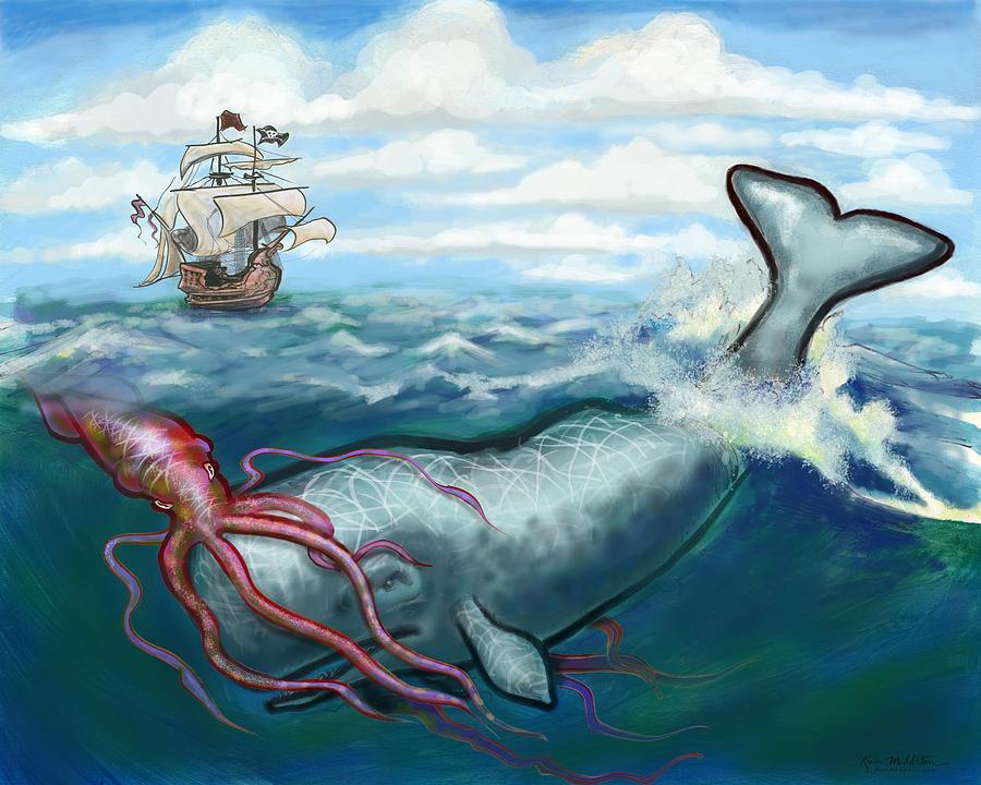 Kraken Digital Art