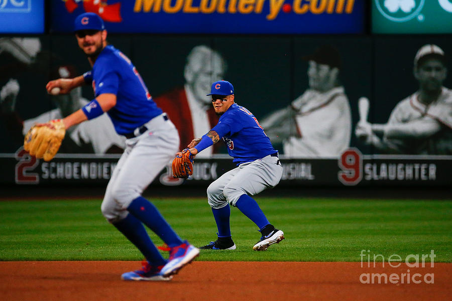 Kris Bryant And Javier Baez Photograph by Dilip Vishwanat