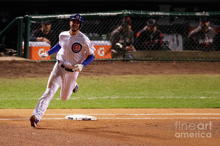 Kris Bryant Photograph by Jamie Squire