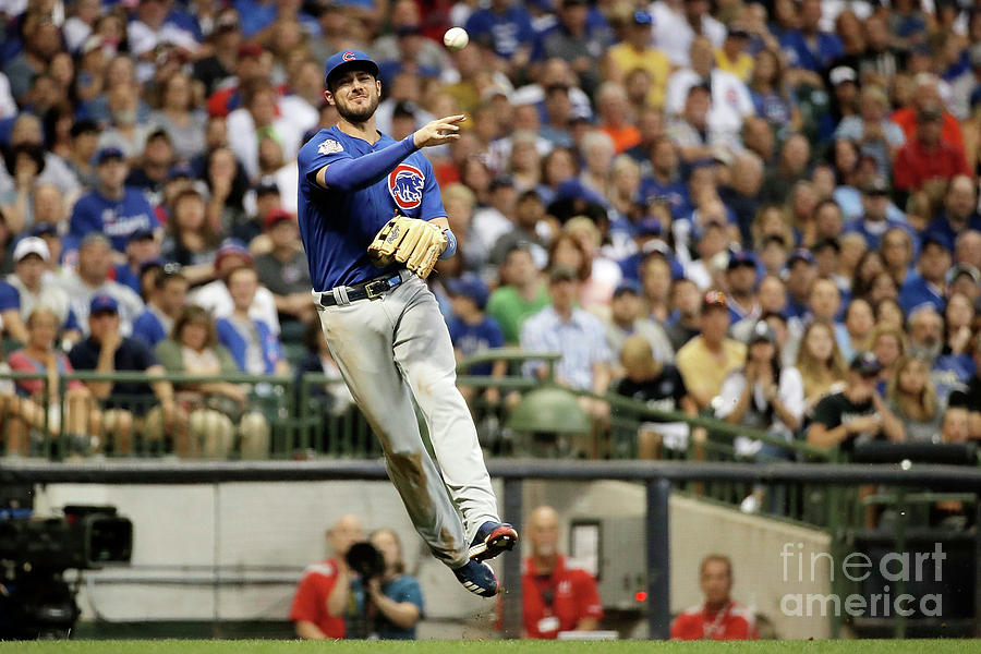 Kris Bryant Photograph by Stacy Revere