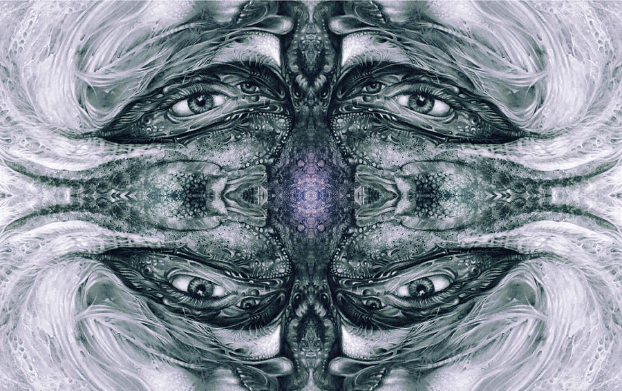 Vienna Digital Art - KRIX KRAX - The Eyes Have It by Otto Rapp
