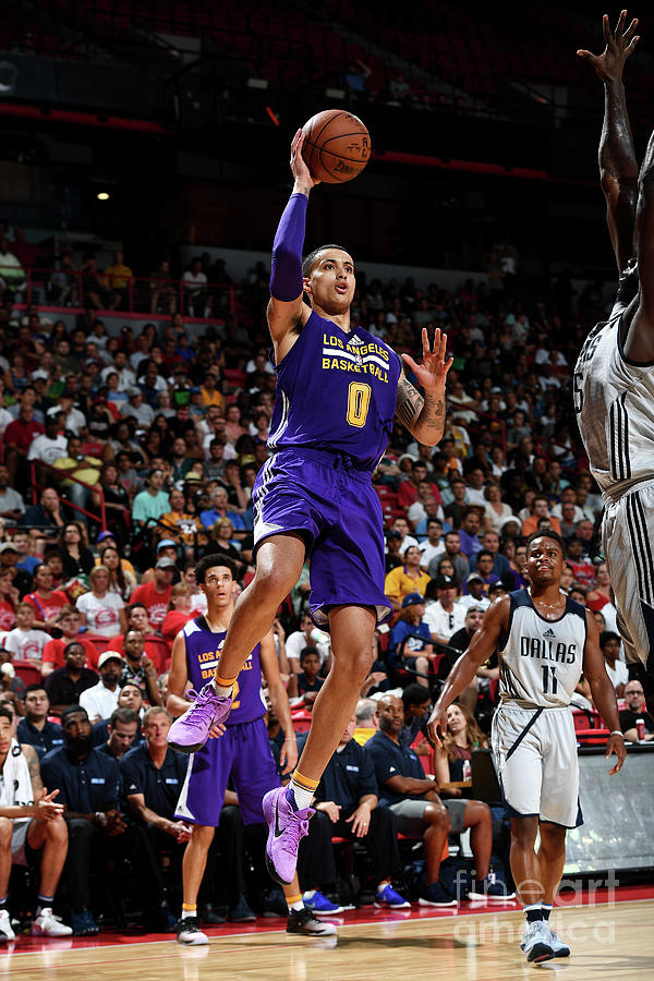 Kyle Kuzma Photograph by Garrett Ellwood