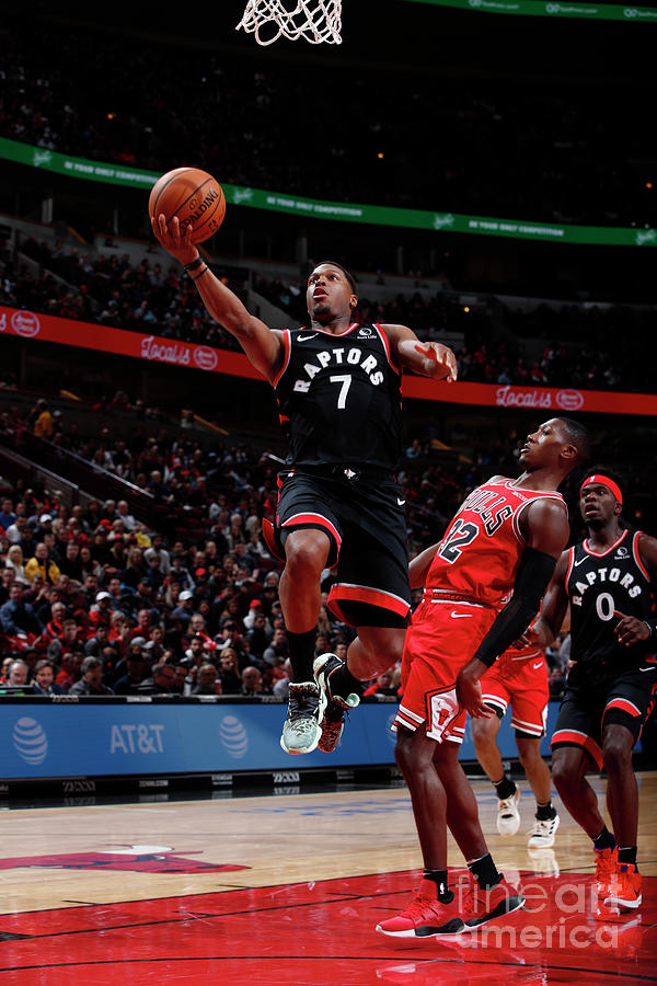 Kyle Lowry Photograph by Jeff Haynes