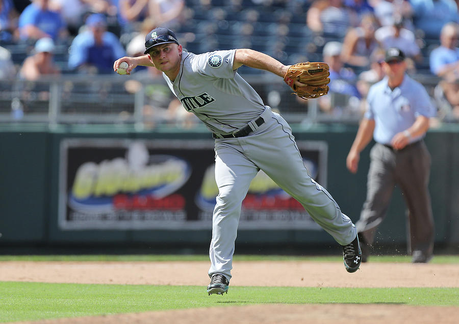 Kyle Seager Photograph by Ed Zurga