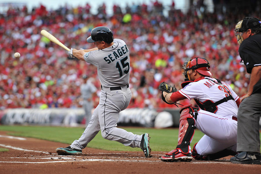 Kyle Seager Photograph by Jamie Sabau