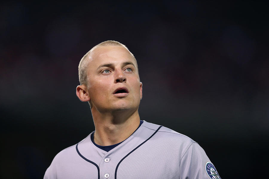Kyle Seager Photograph by Jeff Gross