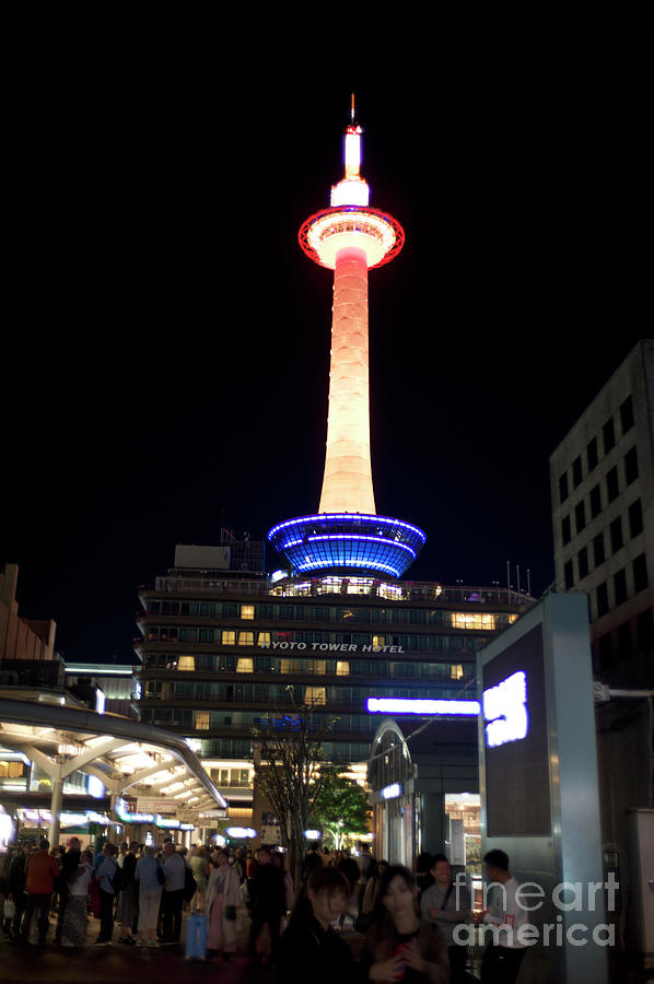 Kyoto Tower Hotel Photograph