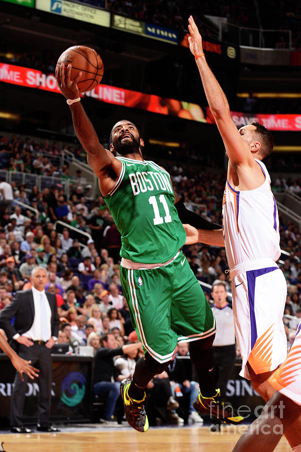 Kyrie Irving Photograph by Barry Gossage