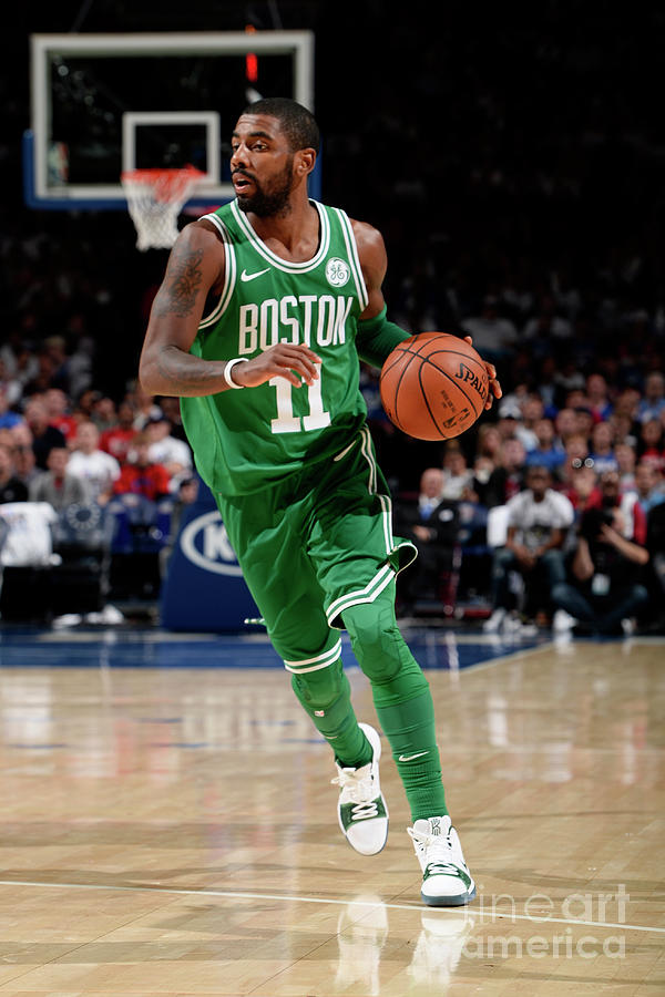Kyrie Irving Photograph by David Dow