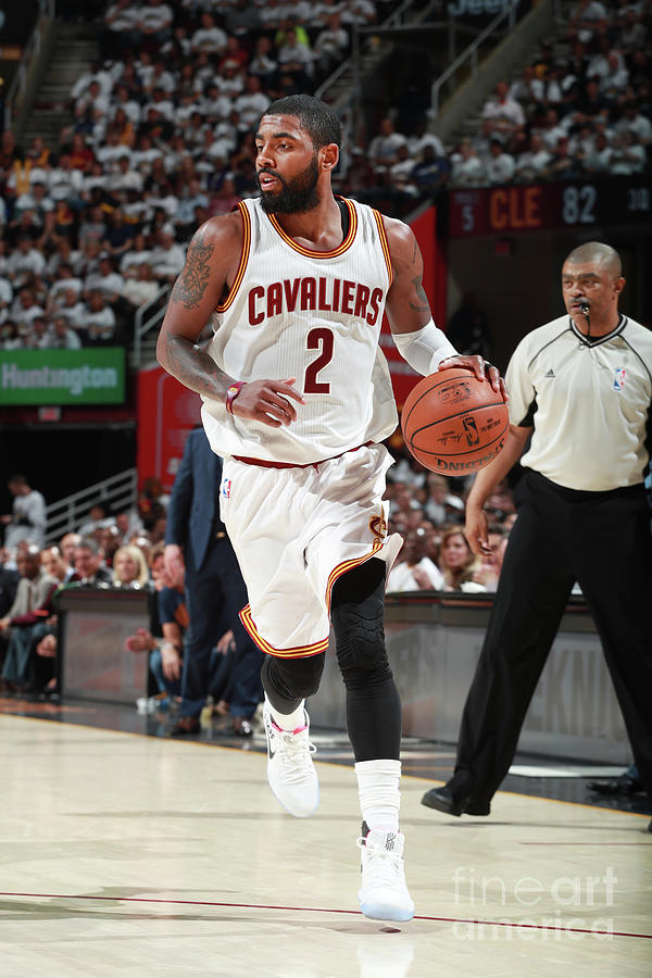 Kyrie Irving Photograph by Jeff Haynes