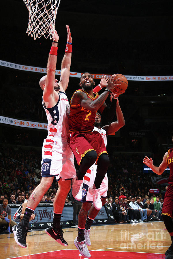 Kyrie Irving Photograph by Ned Dishman