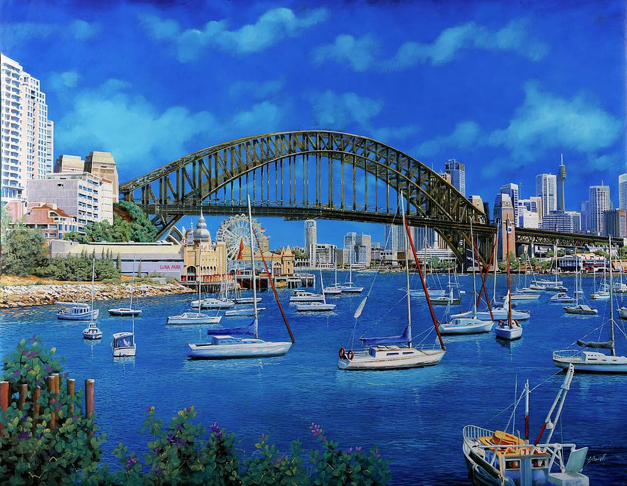 la baia di Sydney Painting