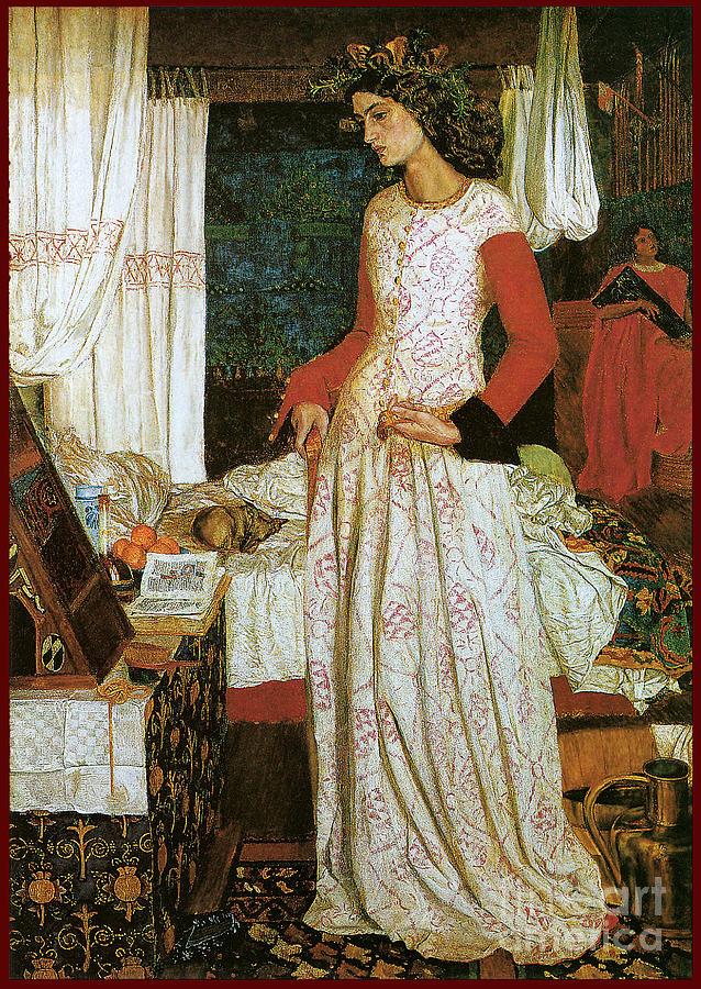 La Belle Iseult 1858 Painting