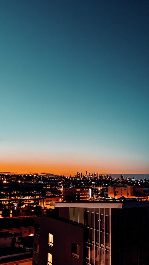 Beautiful Sky Photograph - LA City Sunrise by Jera Sky