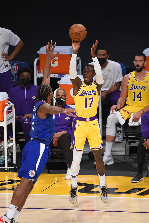 LA Clippers v Los Angeles Lakers Photograph by Adam Pantozzi