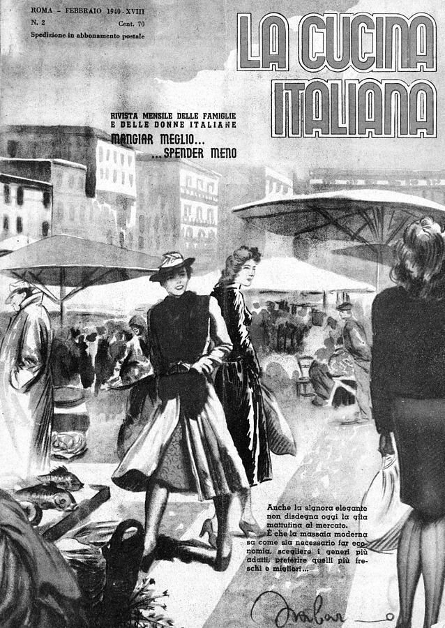 La Cucina Italiana - February 1940 Drawing by Artist Unknown