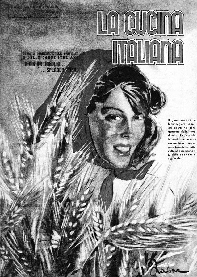 La Cucina Italiana - June 1940 Drawing by Artist Unknown