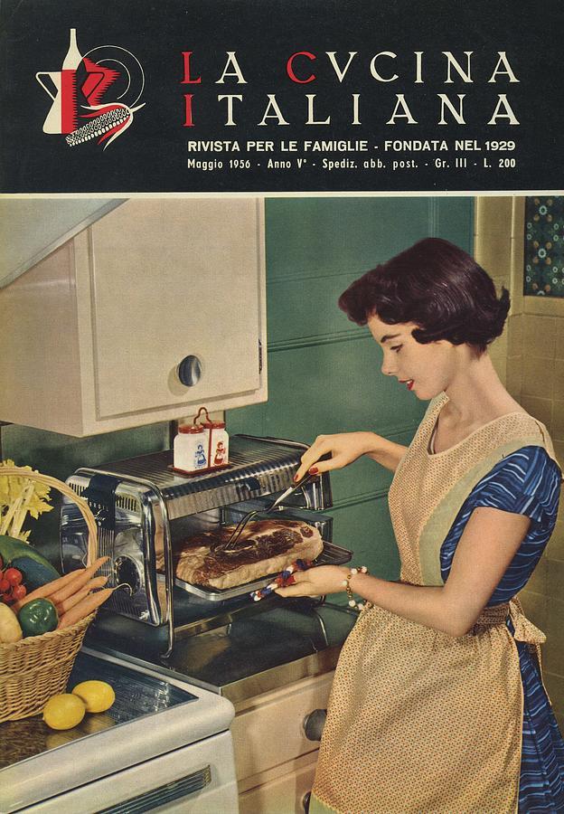La Cucina Italiana - May 1956 Photograph by Artist Unknown