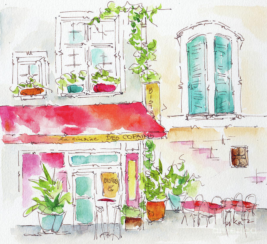 La Cuisine Des Copains Avignon  by Pat Katz