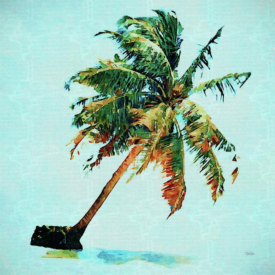 La Jolla Palm Tree Painting