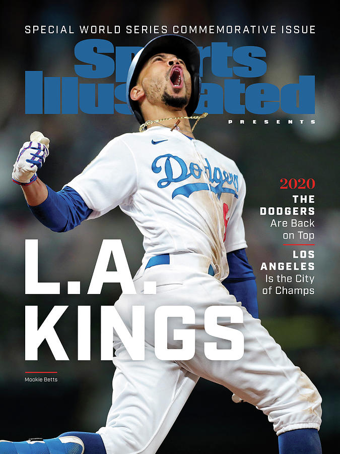 Los Angeles Dodgers Special World Series Commemorative Sports Illustrated Cover Photograph by Sports Illustrated