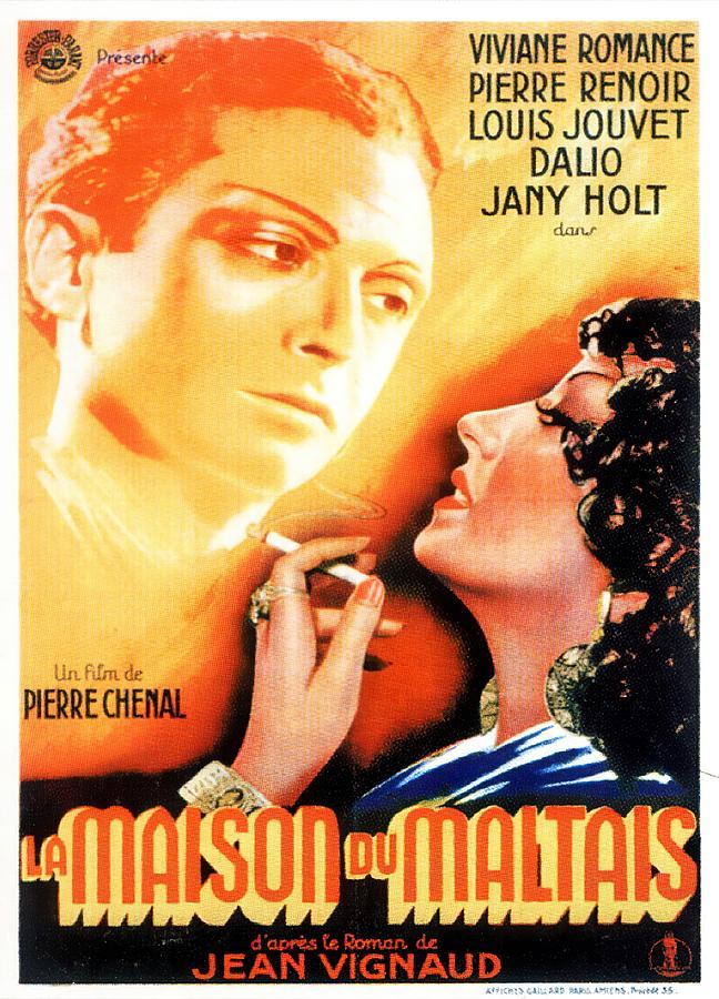 la Maison Du Maltais, 1938 Mixed Media