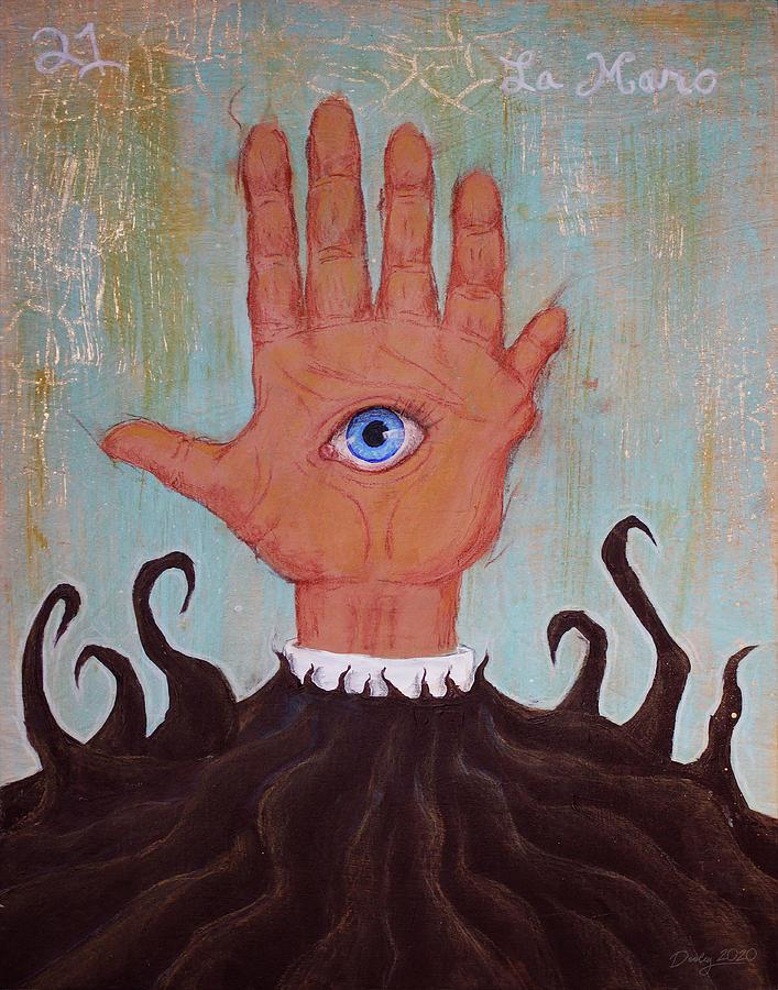 La Mano Painting - La Mano by Shawn Dooley