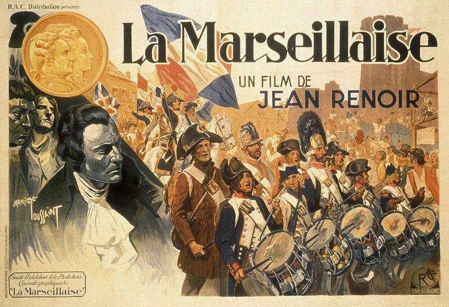 la Marseillaise, By Jean Renoir, 1938 Mixed Media