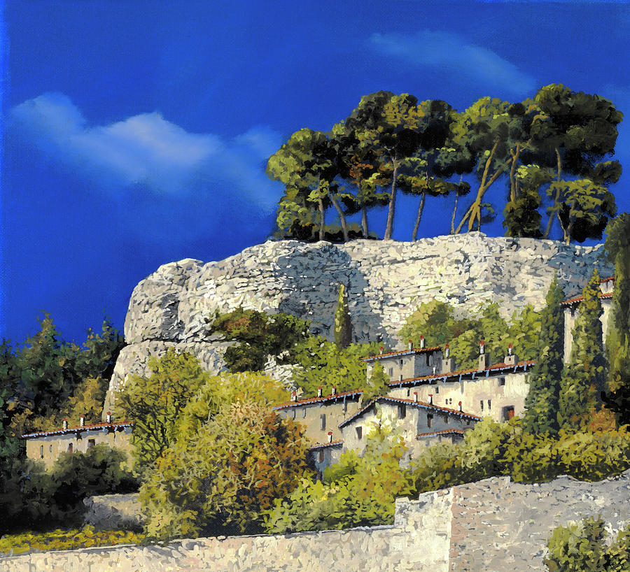 La Rocca Bianca Painting