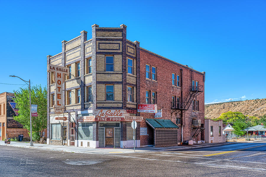 Utah Photograph - La Salle Hotel by Jim Thompson