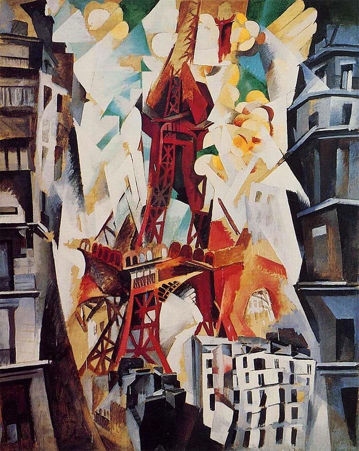 La Tour Rouge Painting