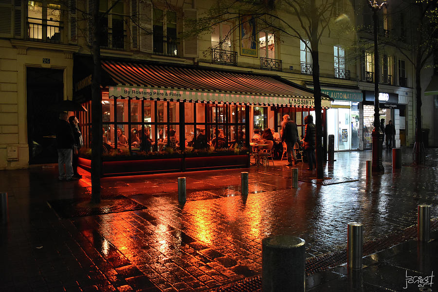 Paris Photograph - LAbsinthe by Brent Jones
